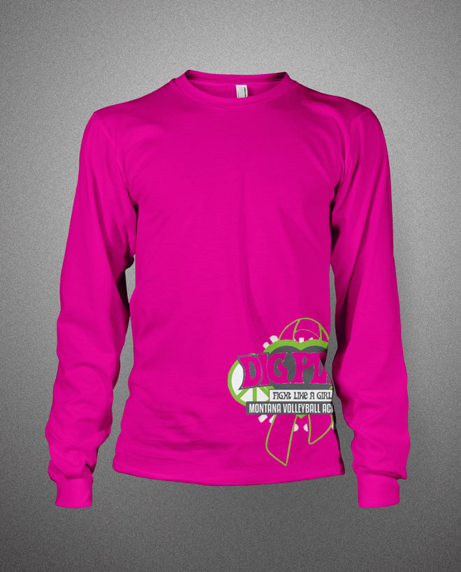 Dig Pink Montana VB Academy | His Image Designs | His Image Designs