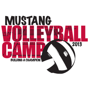 MUSTANG-VOLLEYBALL-CAMP-2013-Artwork